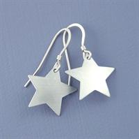 Picture of Aluminium Petite Star Earrings JE-23A