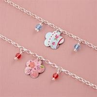 Picture of Child's Flower & Crystal Bracelet