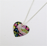 Picture of Liberty Round Heart Necklace JS2