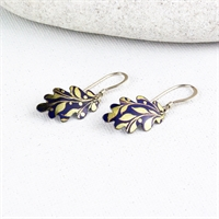 Picture of Gilt Oak Leaf Earrings JE18-G