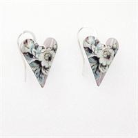 Picture of  Emily Jane Medium Heart Earrings JE12