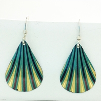 Picture of Geo Green Shell Earrings JE-8