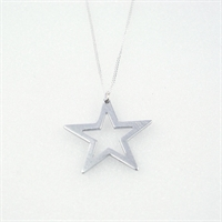 Picture of Aluminium Star Necklace JS11-A
